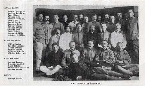 (Forrás: Szöllősy Aladár: Szerb hadifogság. Budapest, 1925.)