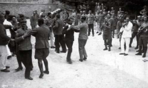 Cittaducale-i osztrák–magyar tiszti bál 1918-ban
