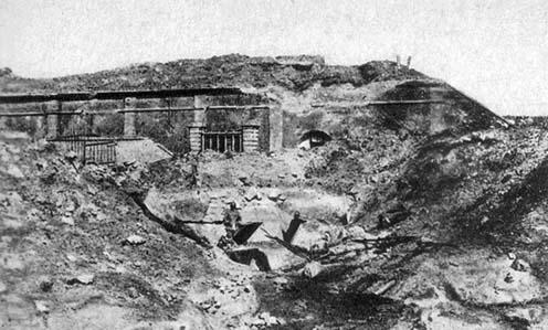 A Fort Vaux 1916 márciusában