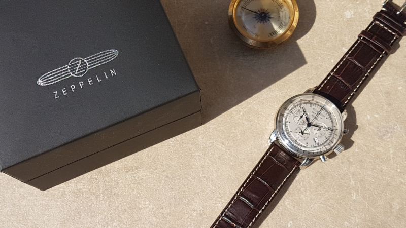 Zeppelin 100 jahre kronográf teszt– hagyományos érték, német minőség