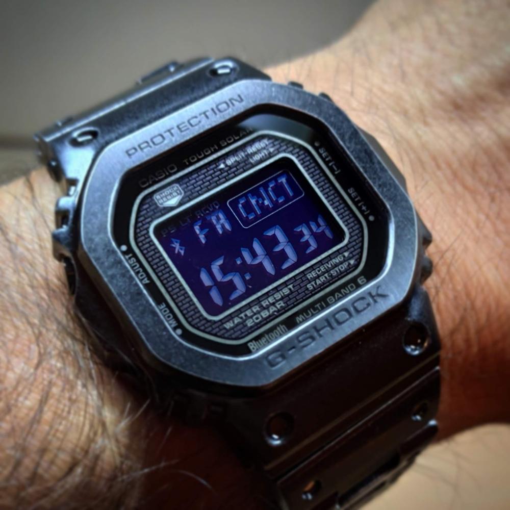 Casio G-Shock GMW-B5000V - a legmodernebb vintage kocka