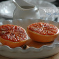 Kétszázötvenedik nap: Fahéjas grillezett grapefruit