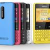 Nokia Asha 210: közösségi kapcsolattartásra tervezve