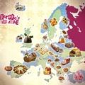 Íme Európa karácsonyi sütitérképe