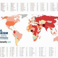 Így néz ki a világ terrortérképe: mennyire kell Magyarországon rettegni?