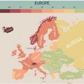 Ezekben az európai országokban a legdrágább a mindennapi élet