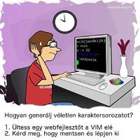 Véletlen karaktersorozat generálás Linux alatt