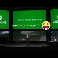Xbox One bejelentés PARÓDIA
