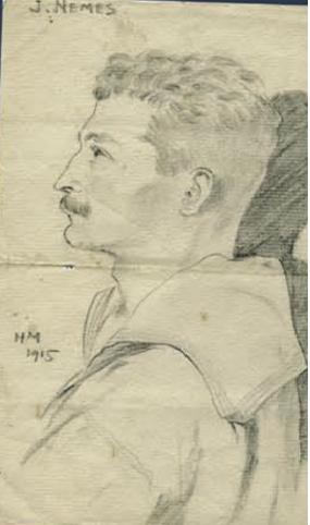 Nemes János 1915-ben