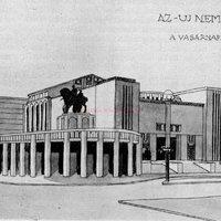 Az első világháború elsodorta az új Nemzeti Színházat