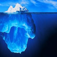 A jéghegy csúcsa alatt