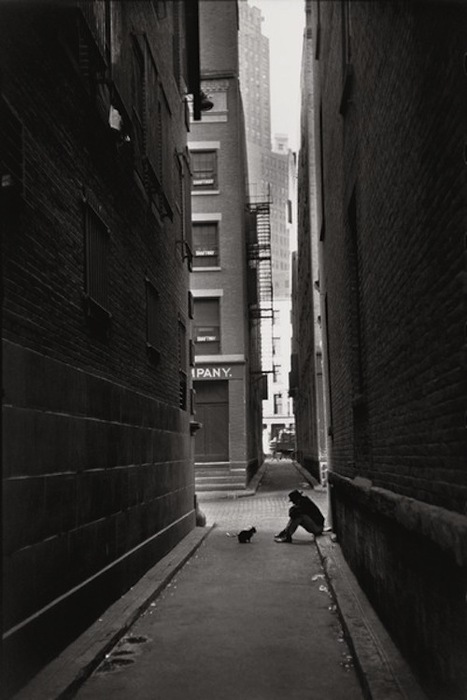 Henri Cartier-Bresson, Down Town, New York, 1947<br />
