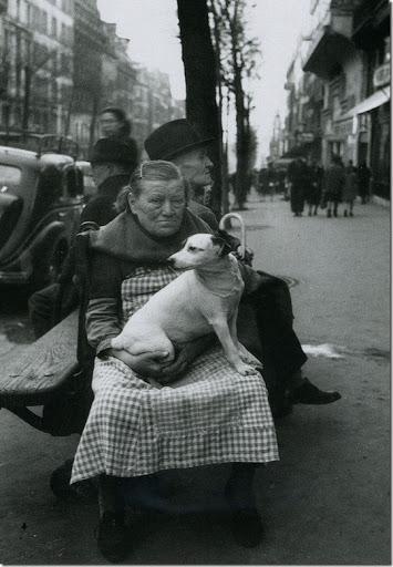 Edouard Boubat, Avenue de Clichy, 1948