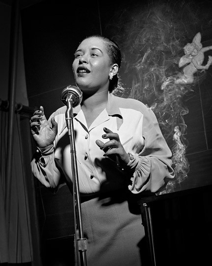 Billie Holiday New York , 1949 © Herman Leonard