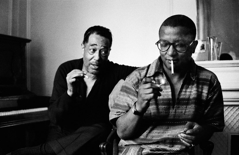 Duke Ellington, Billy Strayhorn Paris , 1960 © Herman Leonard