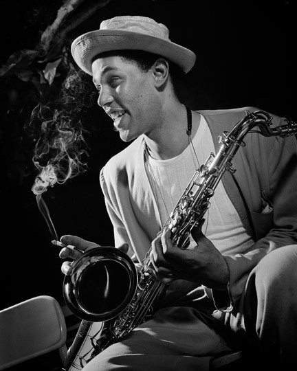 Dexter Gordon New York, 1948 © Herman Leonard