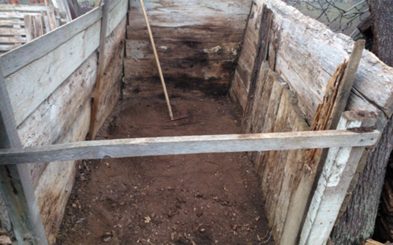 A biokert alapja: profi komposzt
