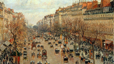 Boulevard Montmartre, Afternoon Sun