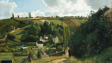 Camille Pissarro as an avant-garde painter