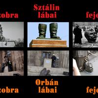 Megfejtés birkáknak, avagy az orbán-sztalin szobor ledöntése