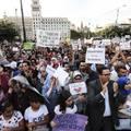 Katalán muzulmánok demonstráltak a terrorizmus ellen a Ramblán