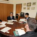 Dél-koreai delegáció látogatása