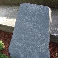 Bödők Zsigmond csillagász síremléke