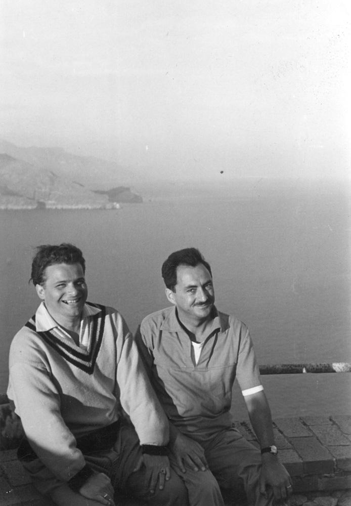 1957-ben Gergelyfy Sándorral Caprin