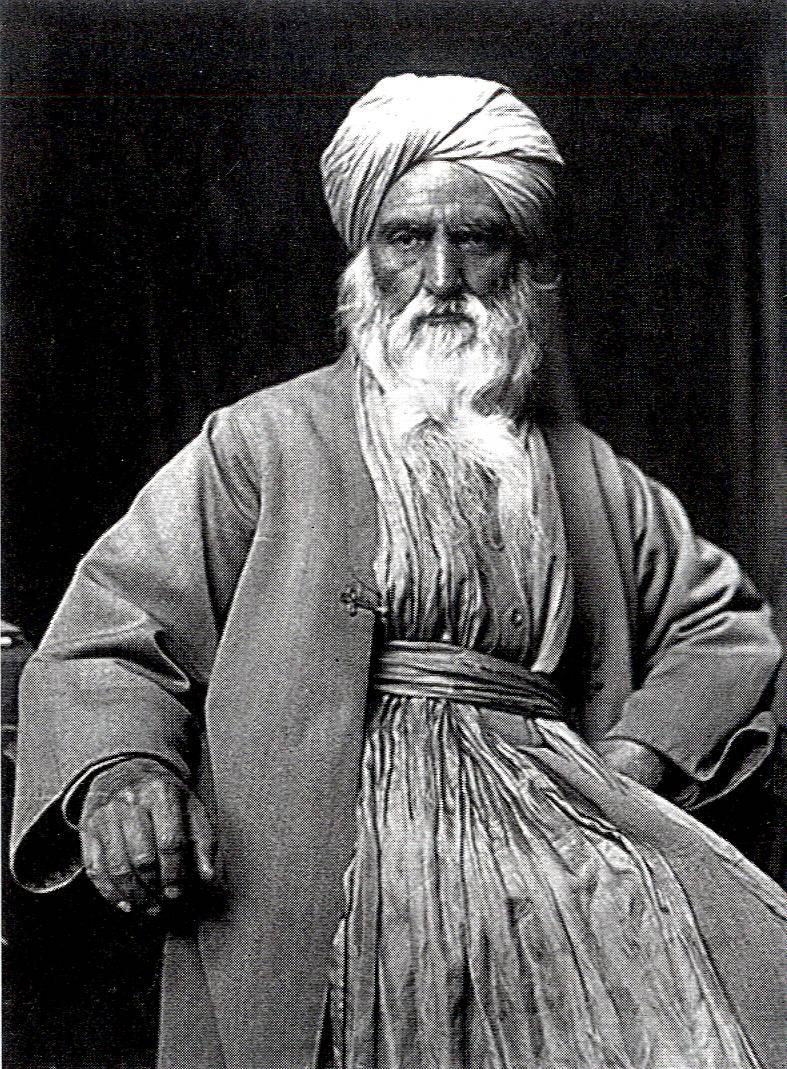 Umrao Singh Sher-Gil időskori képe. India Baktay Ervin: India. India múltja és jelene, vallásai, népélete, városai, tájai és műalkotásai, I. köt. 23. kép. Budapest: Singer és Wolfner, [1931].– Törzsgyűjtemény
