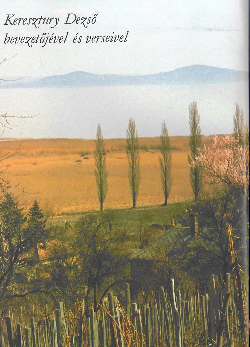 Szelényi Károly: Balaton és vidéke. Táj változó fényben. Keresztury Dezső bevezetőjével és verseivel, Budapest, Corvina, 1978.