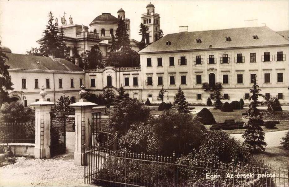 Eger. Az érseki palota. Jelzet: E 270<br />
