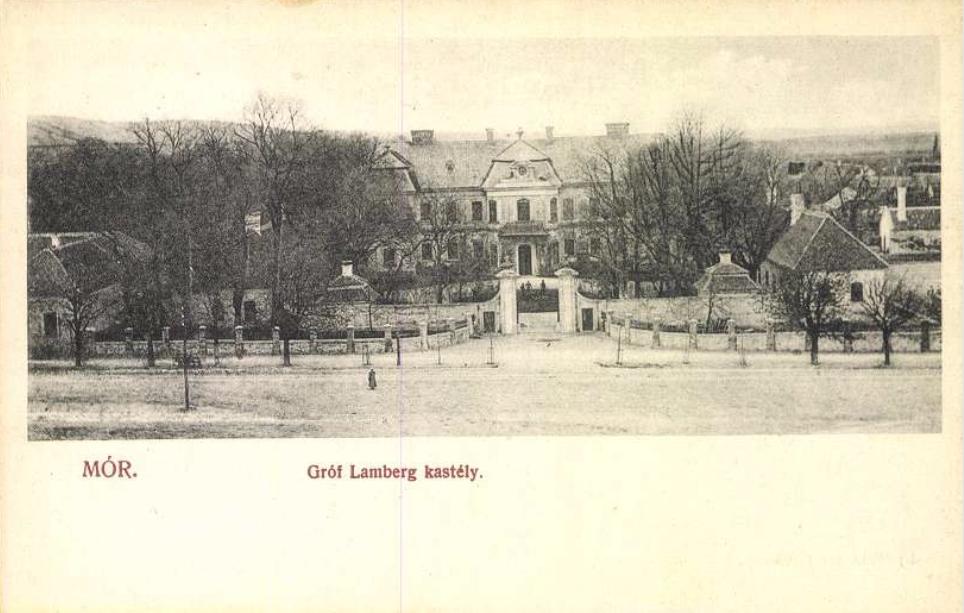 Mór. Gróf Lamberg kastély. Jelzet: M 2.178<br />