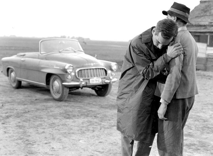 Oldás és kötés. Rendezte: Jancsó Miklós. 1963. Fotó: Rajnógel Imre – Fényképtár<br />Latinovits Zoltán, Barsi Béla