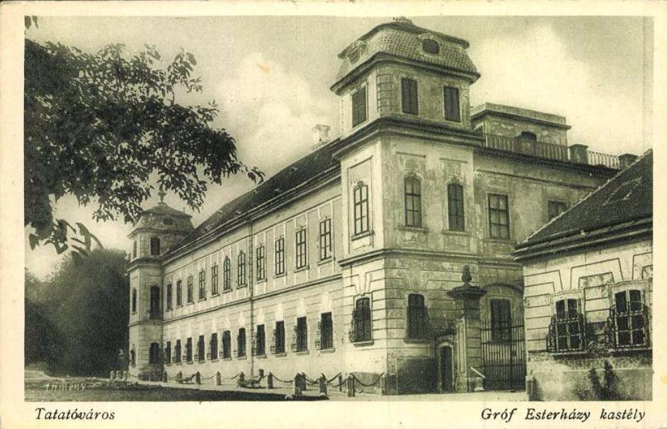 Tata-Tóváros. Gróf Esterházy kastély. Jelzet: T 354 <br />