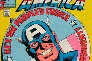 Amerikai elnökjelölt (és elnök) szuperhősök