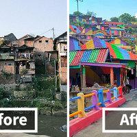 Nézd meg ennek a falunak az elképesztő átalakulását!