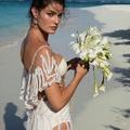 Isabeli Fontana esküvői ruhája elég különleges volt!