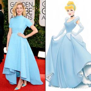 Disney hercegnők a Golden Globe gálán