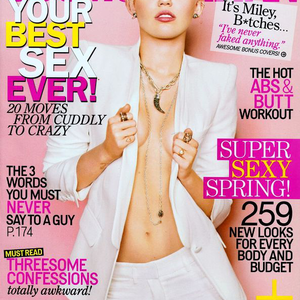 Miley Cyrus a márciusi Cosmo girl