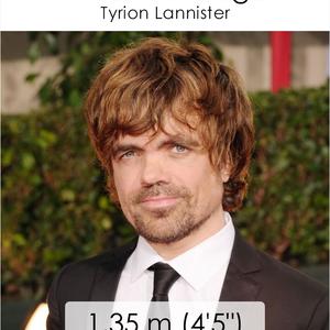 Tudod, milyen alacsonyak a Trónok harca szereplői?