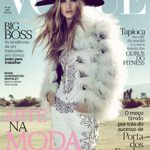 Rosie Huntington-Whiteley megint Vogue