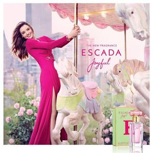 Miranda Kerr vidám Escada parfüm kampánya