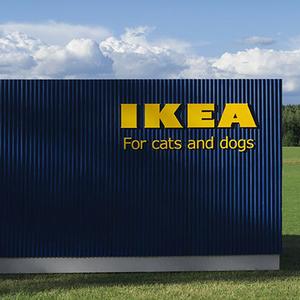Az Ikea nagyot lépett: bútorok cicáknak és kutyáknak!
