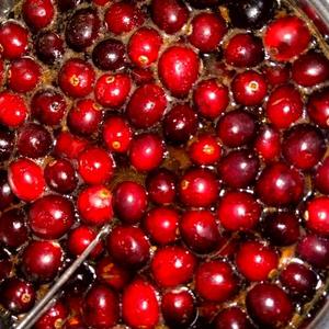Mézes-rumos tőzegáfonya szósz sütikhez és sültekhez