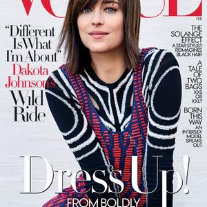 A szürke 50 árnyalata színesben a Vogue címlapon