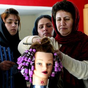 A kabuli szépségszalon