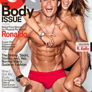 A szexi angyal és Ronaldo egymással cicázik a címlapon