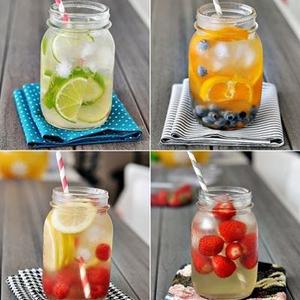 Gyümölcsös vitamin víz házilag
