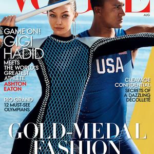 Gigi Hadid amerikai Vogue címlapon