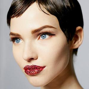 Dior szájak, sminkek és a bemutató